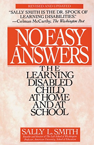9780553354508: No Easy Answers: The Learning Disabled Child at Home and at School