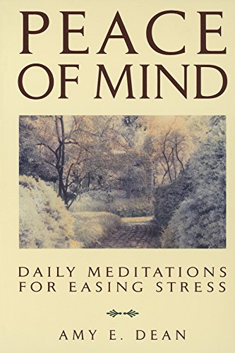 9780553354546: Peace of Mind: Daily Meditations for Easing Stress