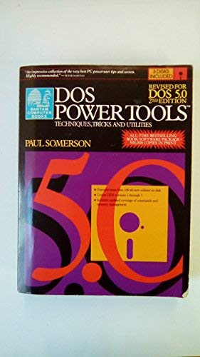 9780553354645: Dos Power Tools 2nd Ed Revised