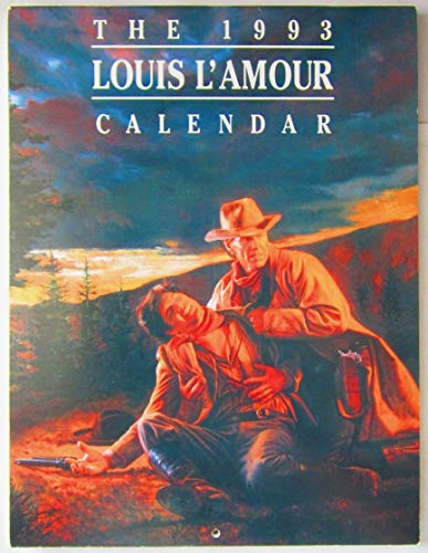 9780553370027: LOUIS L'AMOUR 1993 CALENDAR