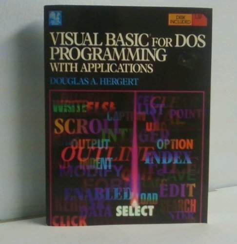 9780553370997: Visual Basic for Dos Programmi