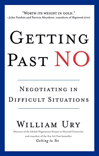 9780553371314: Getting Past No: Negotiating in Difficult Situations