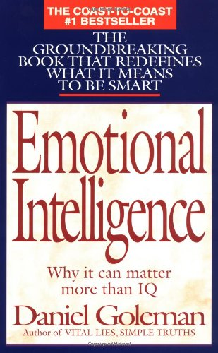 Image result for Emotional Intelligence: Why It Can Matter More Than IQ (1995)