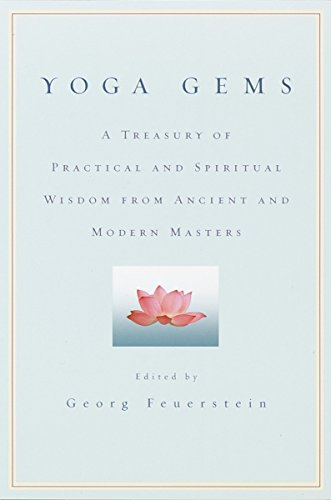 9780553380880: Yoga Gems: A Treasury of Practical and Spiritual Wisdom from Ancient and Modern Masters