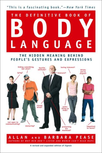 9780553383966: The Definitive Book of Body Language: The Hidden Message Behind People's Gestures and Expressions