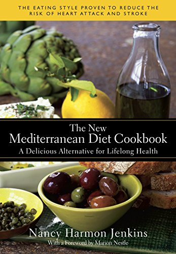New Mediterranean Diet Cookbook a Delicious Alternative for Lifelong Health
