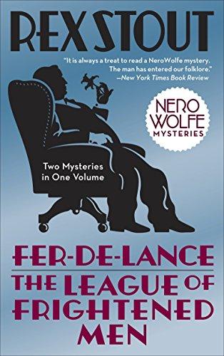 9780553385458: Fer-de-Lance/The League of Frightened Men (Nero Wolfe)