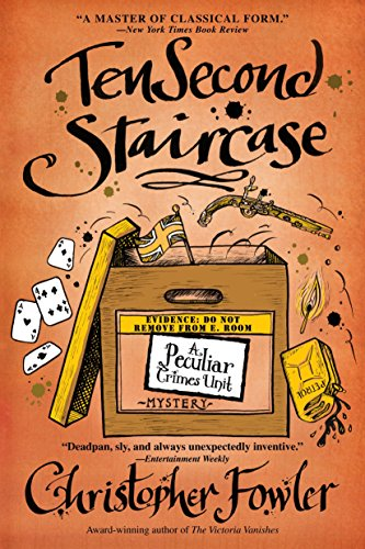 9780553385564: Ten Second Staircase (Peculiar Crimes Unit Mysteries (Bantam Paperback))