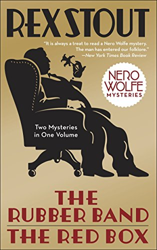 9780553386035: The Rubber Band/The Red Box 2-in-1 (Nero Wolfe)