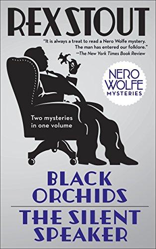 9780553386554: Black Orchids & the Silent Speaker
