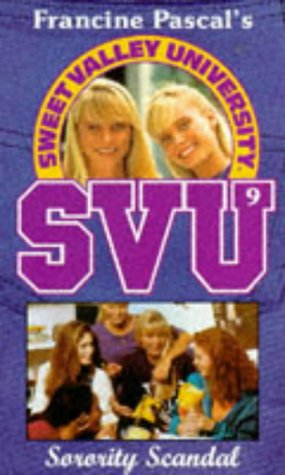 9780553408256: Sorority Scandal (Sweet Valley University)
