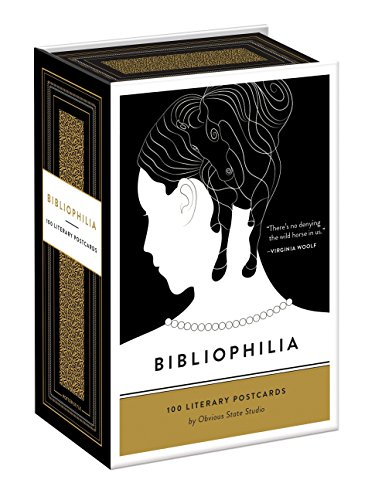 9780553447897: Bibliophilia: 100 Literary Postcards
