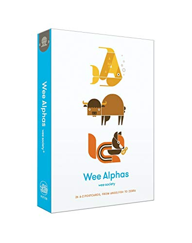 9780553459784: Wee Alphas: 26 A to Z Postcards, from Angelfish to Zebra