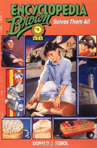 9780553480801: Encyclopedia Brown Solves Them All (Encyclopedia Brown (Quality))
