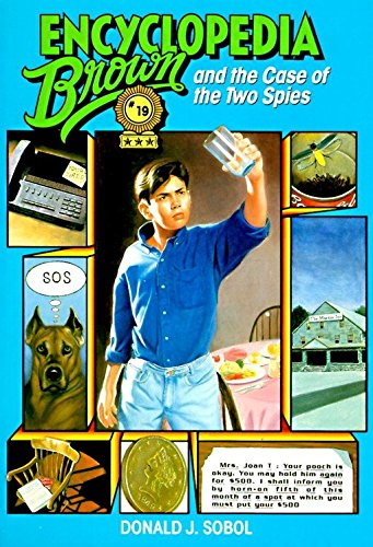 9780553482973: Encyclopedia Brown and the Case of the Two Spies