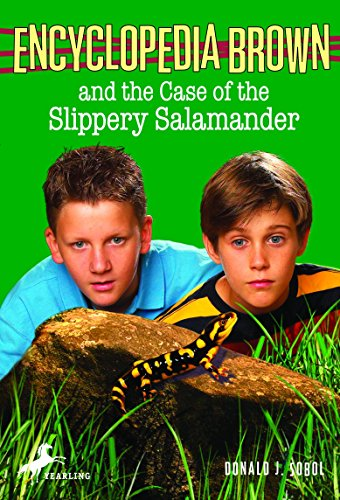 9780553485219: Encyclopedia Brown and the Case of the Slippery Salamander