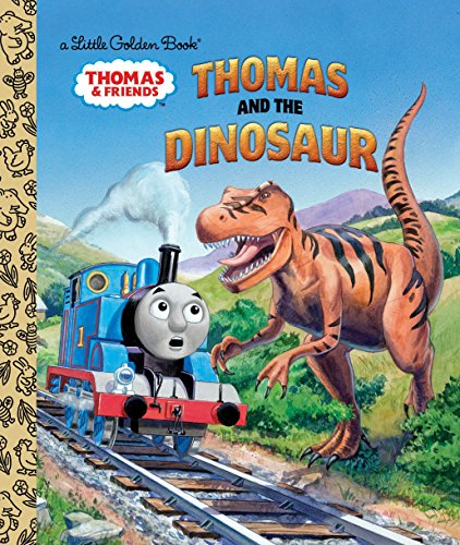 9780553496819: Thomas and the Dinosaur (Thomas & Friends) (Little Golden Books)