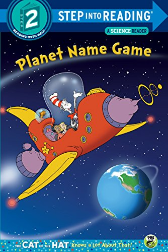 9780553497328: Planet Name Game (Dr. Seuss/Cat in the Hat) (Step into Reading)