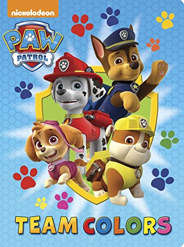 9780553497717: Team Colors (Paw Patrol) (Board Book)