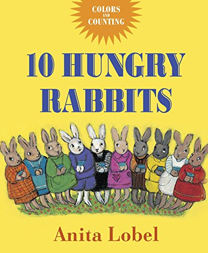 9780553498288: 10 Hungry Rabbits: Counting & Color Concepts