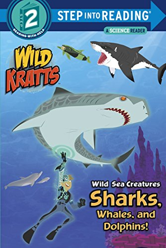 9780553499018: Wild Sea Creatures Sharks, Whales And Dolphins Step Into Reading Lvl 2 (Step Into Reading. Step 2)