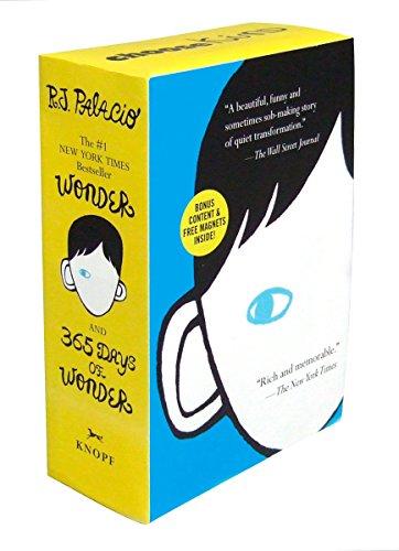 9780553499063: Wonder/365 Days of Wonder Boxed Set
