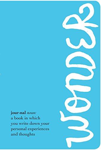 9780553499070: The Wonder Journal