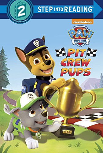 9780553508536: Pit Crew Pups (Paw Patrol) (Step Into Reading. Step 2)