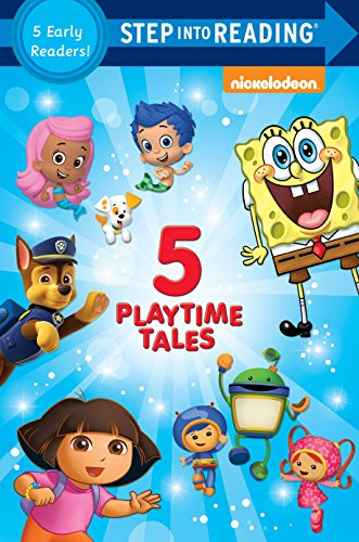 9780553508598: Five Playtime Tales (Nick, Jr.) (Step into Reading)