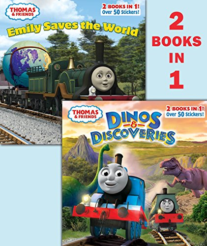 9780553508703: Dinos & Discoveries / Emily Saves the World Deluxe Pictureback