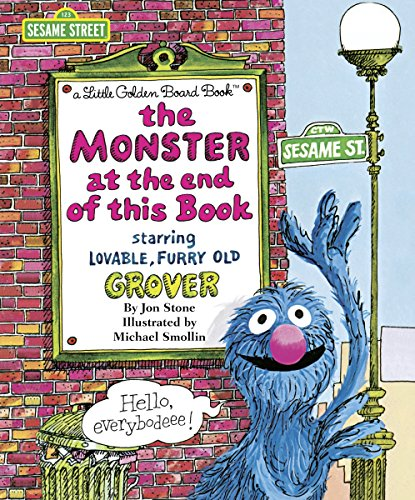 9780553508734: The Monster at the End of This Book (Big Bright & Early Board Books)