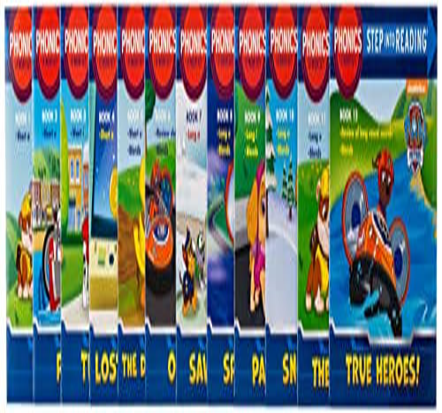 9780553508789: Paw Patrol Phonics Box Set (PAW Patrol) (Step into Reading)