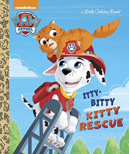 9780553508840: The Itty-Bitty Kitty Rescue (Paw Patrol) (Little Golden Book)
