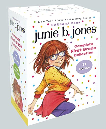 9780553509816: Junie B. Jones Complete First Grade Collection: Books 18-28 with paper dolls in boxed set