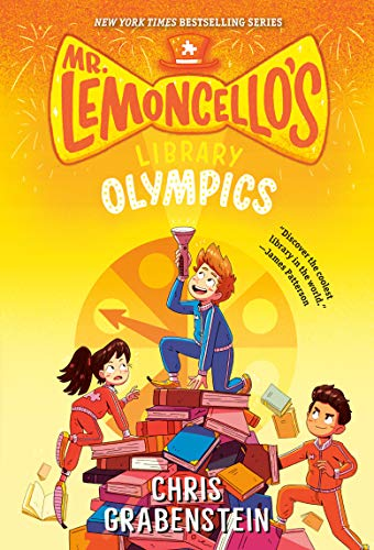 9780553510423: Mr. Lemoncello's Library Olympics