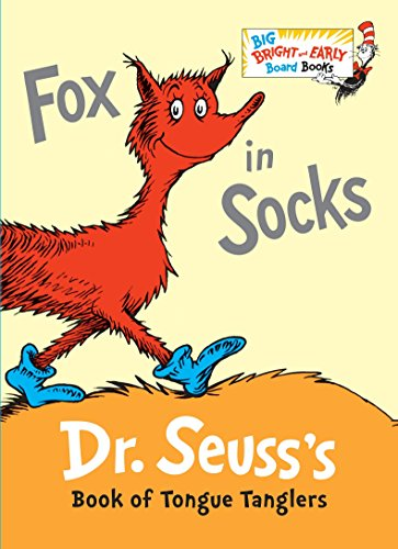9780553513363: Fox in Socks Big Bright & Early Board Book