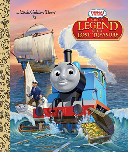 9780553520743: Sodor's Legend of the Lost Treasure (Thomas & Friends) (Little Golden Book)