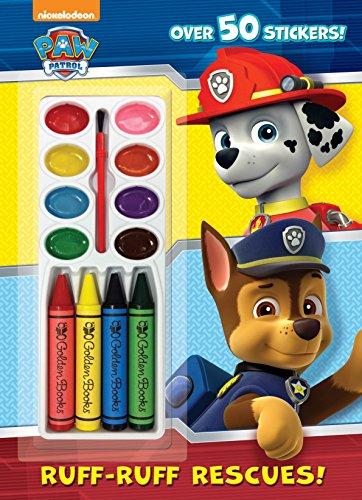 9780553520804: Ruff-Ruff Rescues! (Paw Patrol)