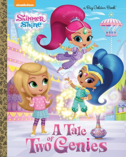 9780553522006: A Tale of Two Genies (Shimmer and Shine) (Big Golden Book)