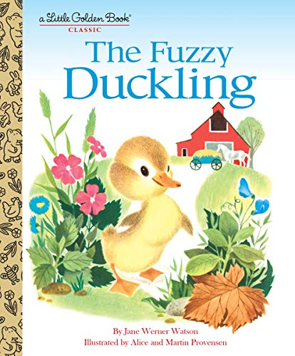 9780553522136: The Fuzzy Duckling (Little Golden Book)