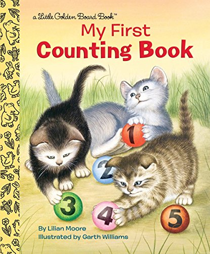 Stock image for MY FIRST COUNTING BO for sale by Bayside Books