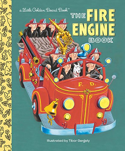 9780553522242: The Fire Engine Book (Little Golden Board Books)