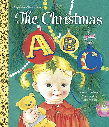 9780553522259: The Christmas ABC (Big Golden Board Book)