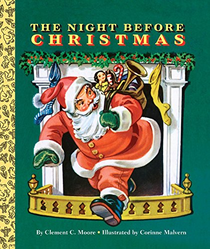 9780553522266: The Night Before Christmas (Big Golden Board Book)