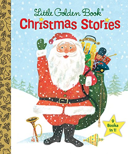 9780553522273: The Little Golden Book Christmas Stories (Little Golden Book Treasury)