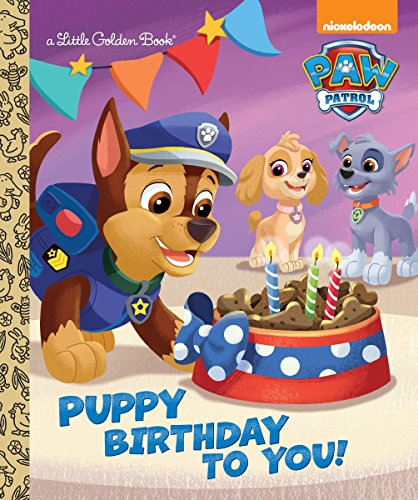 9780553522778: Puppy Birthday to You! (Paw Patrol) (Little Golden Books)