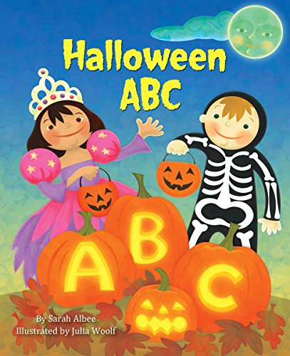 9780553524222: Halloween ABC (Little Golden Board Book)