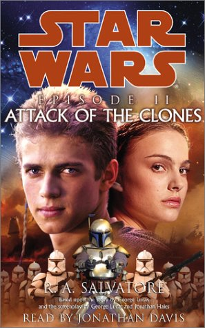 Star Wars, Episode II - Attack of the Clones (0553529048) by R.A. Salvatore