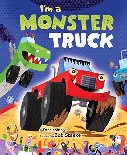 9780553535860: I'm a Monster Truck (Little Golden Board Book)