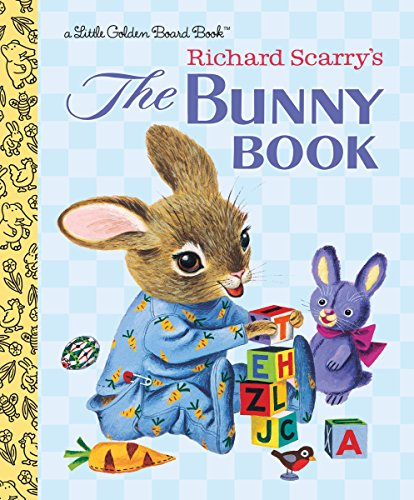 9780553535877: The Bunny Book (Little Golden Board Book)
